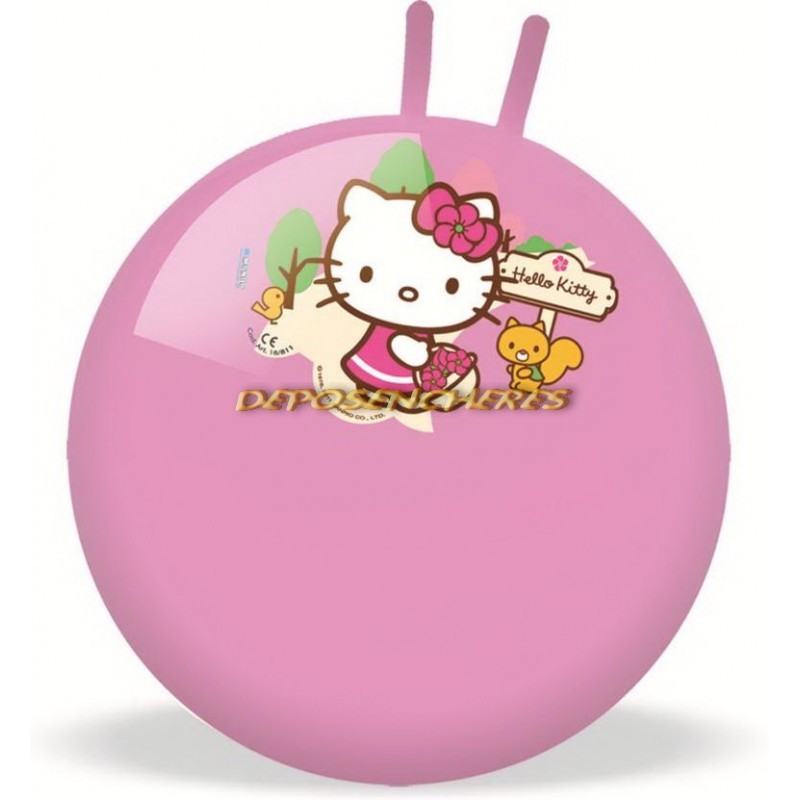 Ballon sauteur Hello Kitty diamètre 50cm
