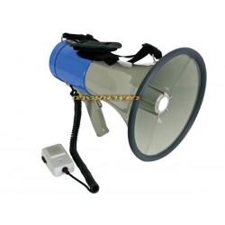Mégaphone porte voix 25W avec sirène