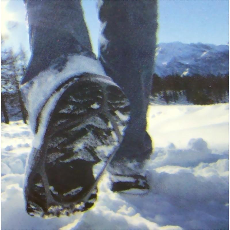 Crampons anti-glisse pour chaussures verglas, neige, boue