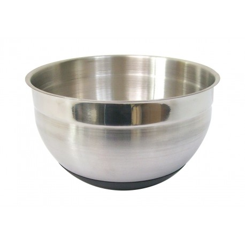 Bol mélangeur en inox Ø20cm avec base silicone