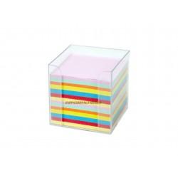 Bloc note mémo block cube 800 feuilles + support