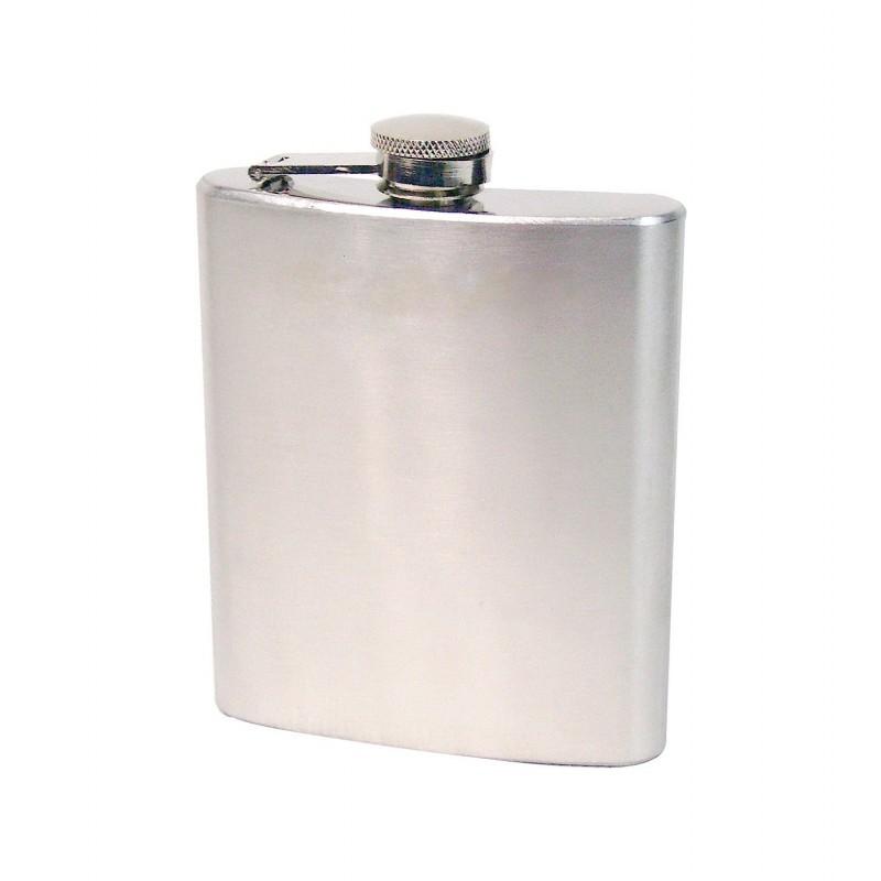 Flasque à alcool 20cl en acier inox 18/10