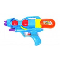 Pistolet à eau 27cm bleu