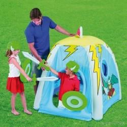 Chateau fort tente de jeu gonflable avec accessoires