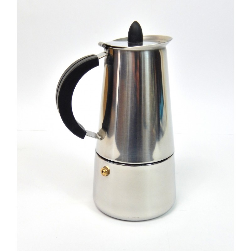 Cafetière expresso italienne inox 6 tasses - Shopping-affaires