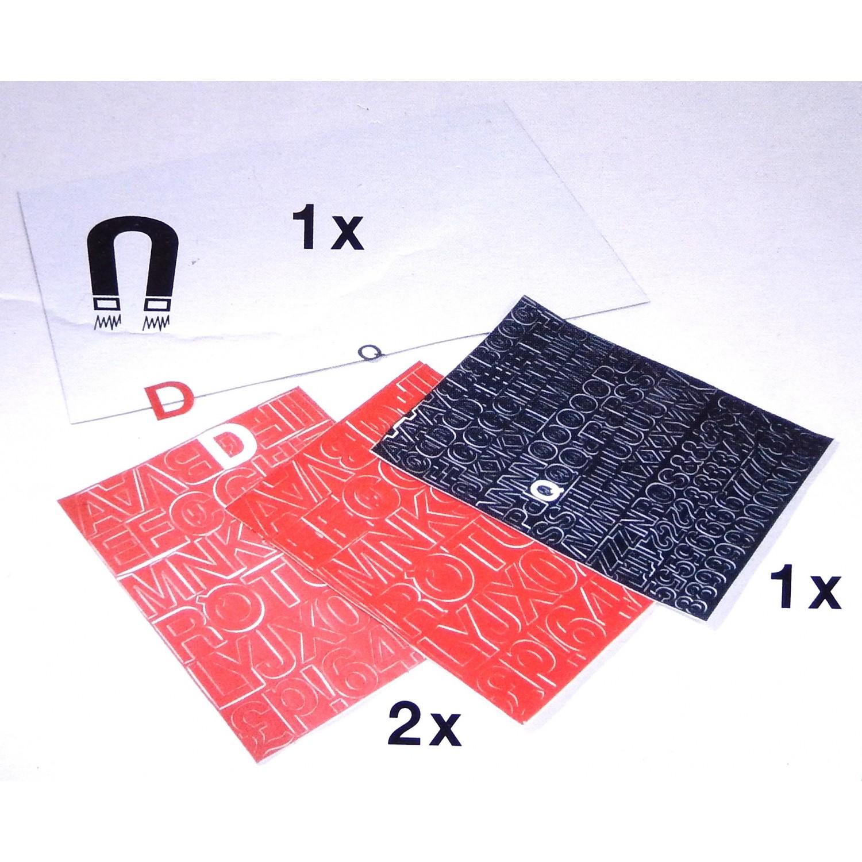 panneau magn tique 30x45cm avec lettrage ebay. Black Bedroom Furniture Sets. Home Design Ideas