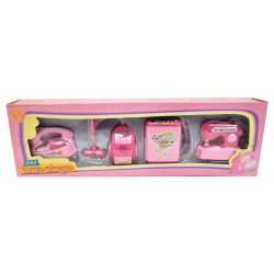 Lot 4 jouets mini-électroménager thème ménage