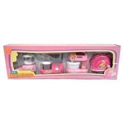 Lot 4 jouets mini-électroménager thème cuisine