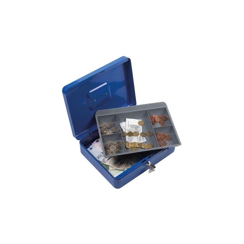 Coffret caisse boite à monnaie 24x30cm