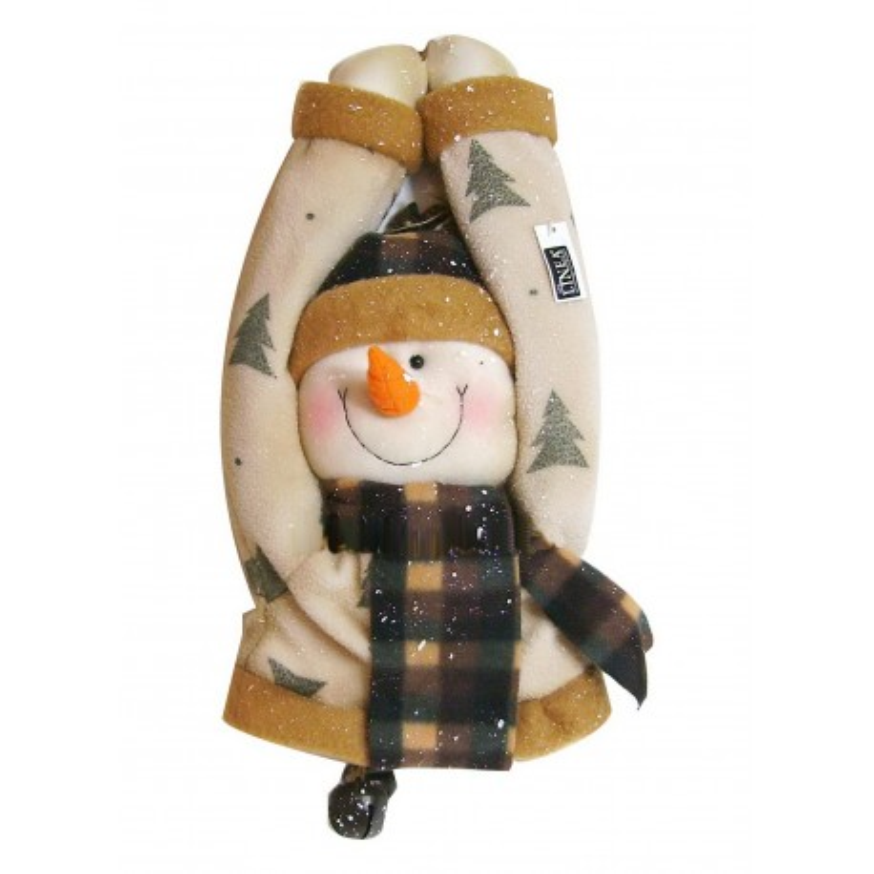 Bonhomme de neige à suspendre 39 cm