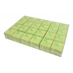 Lot revendeur 24 boites cadeaux pour bagues vert