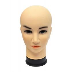 Tête de mannequin homme de base pour chapeau, bonnet, perruque