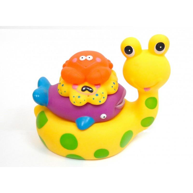 Jouets pour le bain animaux asssortis 4 pièces