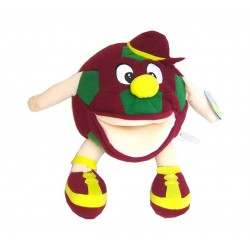 Peluche marionnette ballon de foot sonore GOALLL
