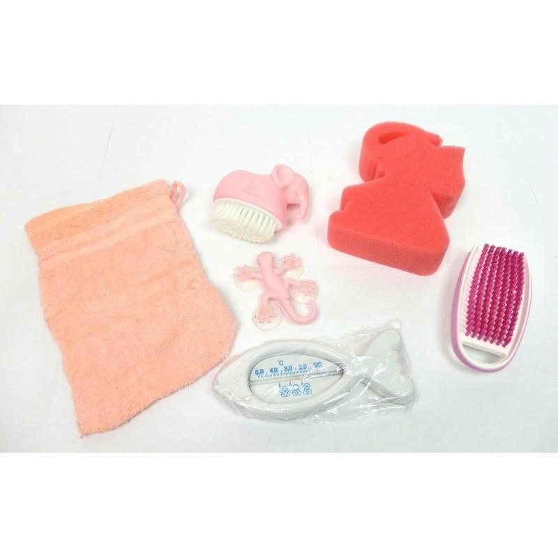 Lot 6 accessoires pour le bain spécial enfant