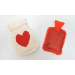 Chaufferette chauffe mains instantané avec housse tricot