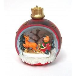 Boule de Noël lumineuse renne