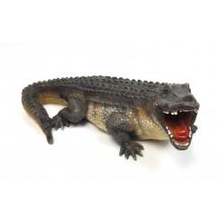 Crocodile en résine 33cm