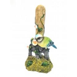 Oiseau posé sur fourche en résine type C