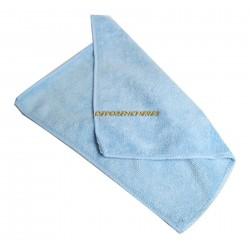 Chiffon microfibre 30x30cm bleu