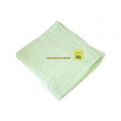 Drap de bain éponge coton vert 350g/m² 80x150cm