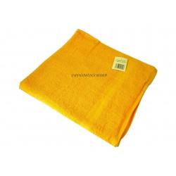 Drap de bain éponge coton orange 350g/m² 80x150cm