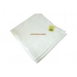 Drap de bain éponge coton blanc 350g/m² 80x150cm