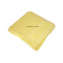 Drap de bain éponge coton jaune 350g/m² 80x150cm
