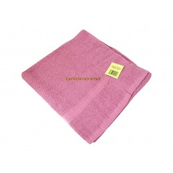 Drap de bain éponge coton vieux rose 350g/m² 80x150cm