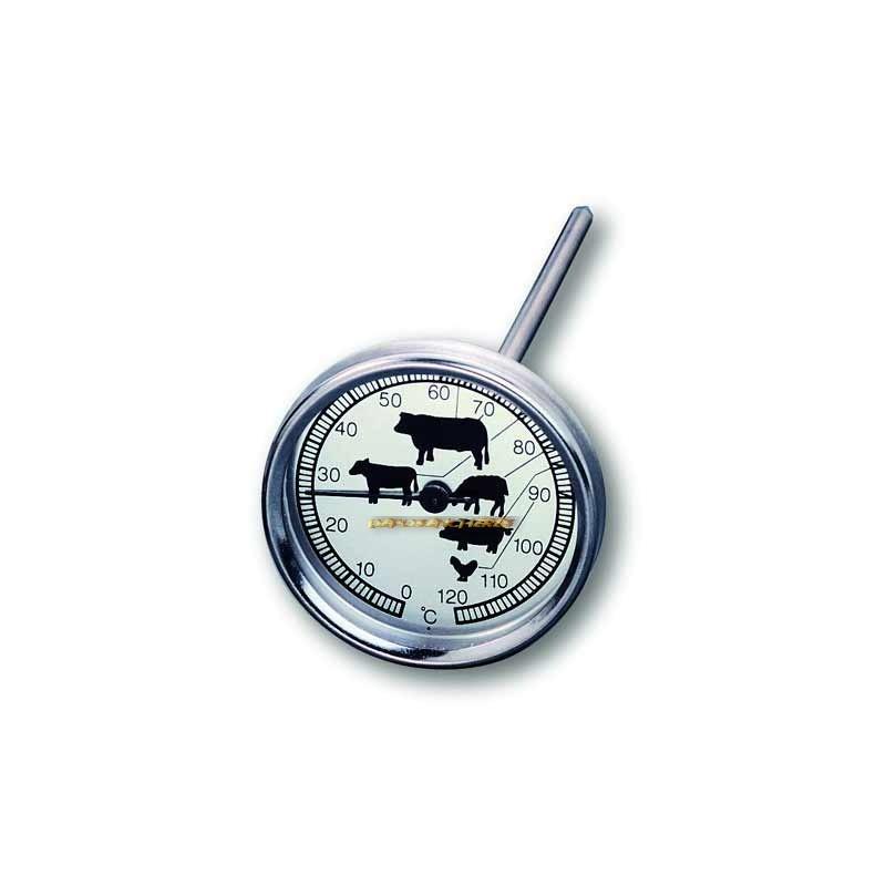 Thermometre de four en inox