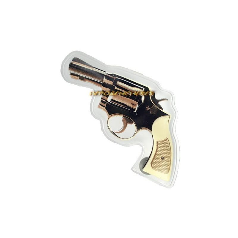 Lot 2 chauffe-mains instantanés de poche forme revolver