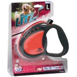 Laisse cordon nylon 5m enrouleur chien jusqu'à 20kg