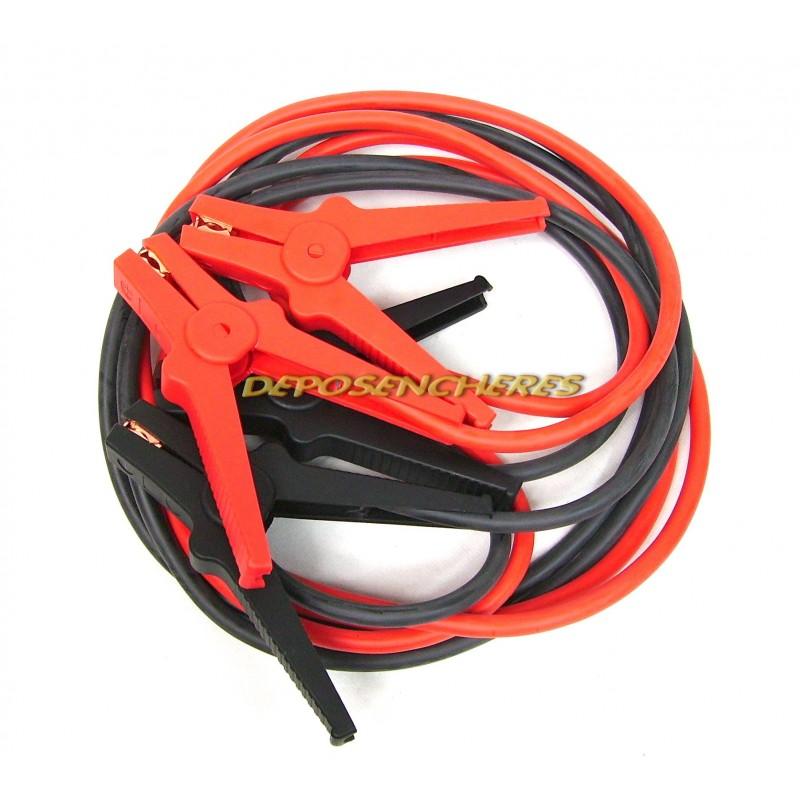 Câbles de démarrage 3,5m 500amp.